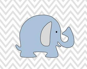 8 x 10 Elephant Print INSTANT DOWNLOAD