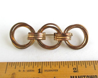 1/10 12KT GF Pin / Brooch - Antique, Long