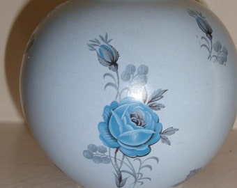 Beautiful blue Mexican vase