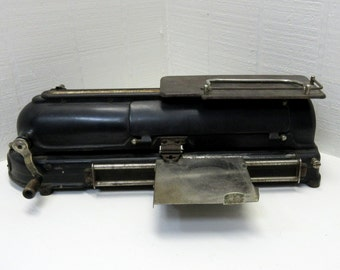 Antique Check Writer 'The Protectograph' G.W. Todd and Company