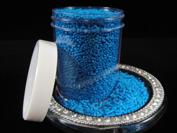 Blue Cake Decorating Sprinkles : Bright Blue Jimmies, Sprinkles, Cake Pops, Cupcake ...