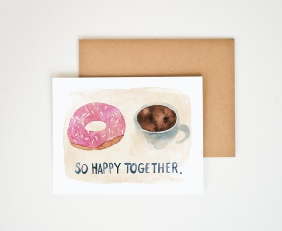 So Happy Together Greeting Card