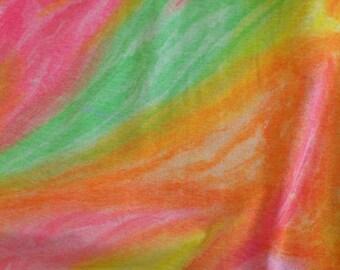Tye Dye Cotton Fabric by the yard