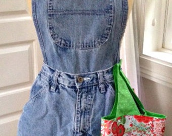 Blue Jean Apron Sewing Tutorial