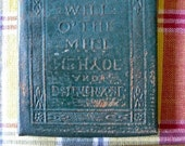 Antique Little Leather Small Book Will O' The Mill  Robert Louis Stevenson Classic Literature NY Little Leather Library Corporation 1921