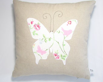 Butterfly Cushion, Home Decor, Cushion, Handmade, Free Postage