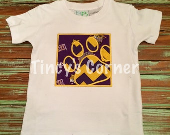 Tiger Paw Appliqued Shirt