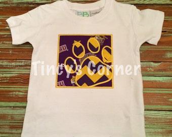 Tiger Paw Appliqued Shirt