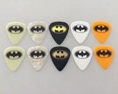 10 pc. BATMAN Guitar Picks set - asst. gauges