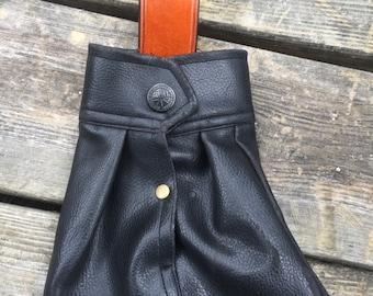 Black Blaze Orange Single Loop Belt Case