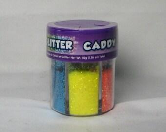 Neon Glitter   --   Glitter Caddy   --   (NEW)   --   6 NEON COLORS   --   1.76 oz  --   (#1255)