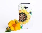Big Sunflower iPhone Floral Case - iPhone 6 / 6 Plus Case - iPhone 5 / 5S Case - iPhone 4 Case - HTC - Samsung - Lenovo - Sony - Nokia