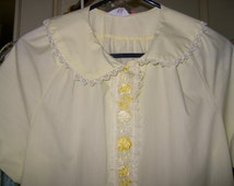 Yellow Vintage Summer House Frock by GayMode JC Penny