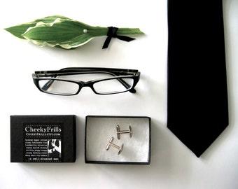 Design Your Own Cufflinks -- Medium Round Custom CUFFLINKS