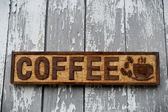 Kitchen Decor Restaurant Wall Art Cafe Decor Coffee Lover Gift Idea