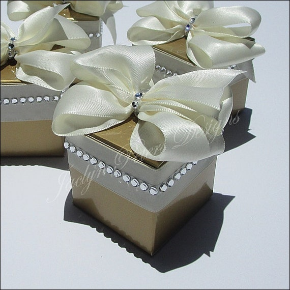 Gold Wedding Favors 50th Anniversary Party Supply Elegant