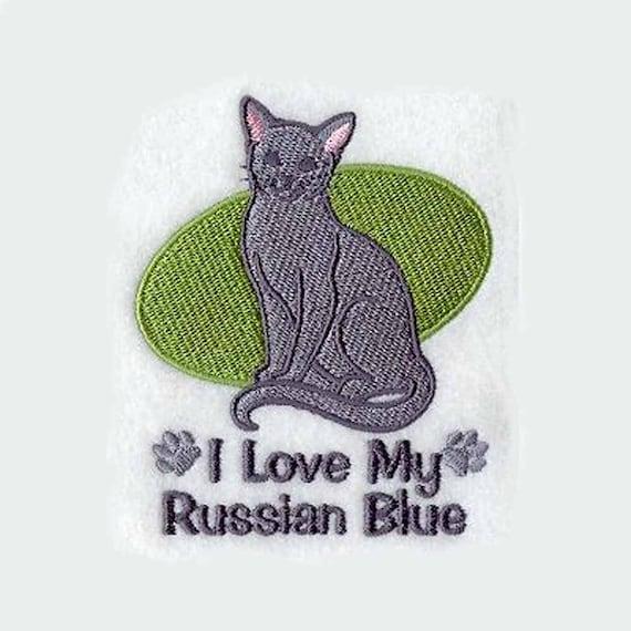 Customizable Love My Russian Blue 74