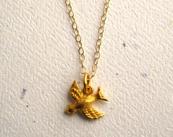 Golden Songbird Necklace