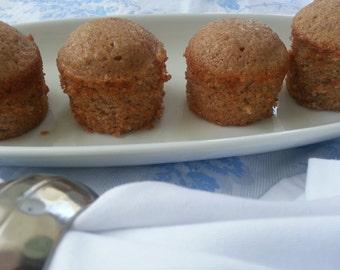 Snickerdoodle Mini Tea Cakes Tea Party Wedding Favors