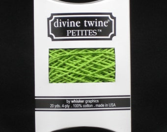 NEW-Divine Twine Petites (20 yards)-SOLID GREEN