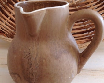 French Country Pitcher: Jug, Earthenware, Pottery, Kitchenware, Tableware, Vintage, Farmhouse