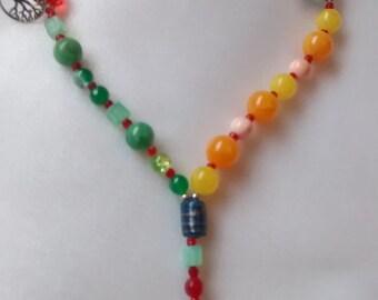 SUMMER SOLSTICE Pagan Rosary Prayer Ritual Beads