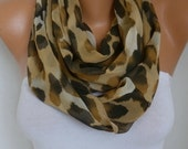 Leopard Print Infinity Scarf Animal Scarf Spring Summer Circle Loop Scarf Gift Ideas For Her best selling item Women Fashion Accessories