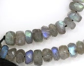 Labradorite Beads - 6mm Faceted Rondelle - Limited Quantity