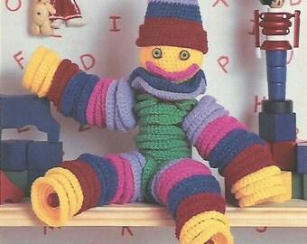 Flexible Friends Crochet Pattern No 58 Instant Download