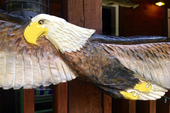 Items Similar To American Bald Eagle 6ft Show Piece Wall