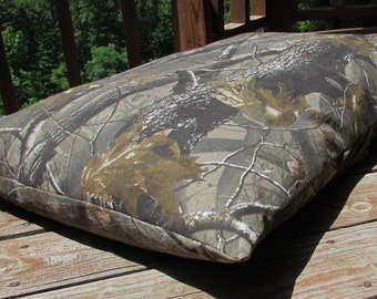Pet Bed Duvet Cover Realtree Hardwoods Camo, Canine Cloud Dog Bed Cover 35 x 24, Pet Furniture, Gift