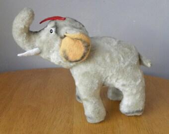 Vintage Elephant - 1950's Toy - Jumbo - Old Toy Elephant