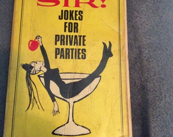 Vintage Adult Joke Book
