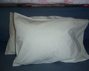Gingham Pillow Cases Etsy
