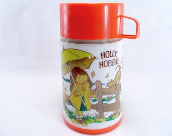 Holly Hobbie Thermos Vintage 70s