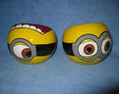 Yellow Minion Ceramic Bowl (Made to Order and Customizable)