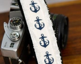 Anchor slr Camera Strap - Photographer Gift - Anchors Away