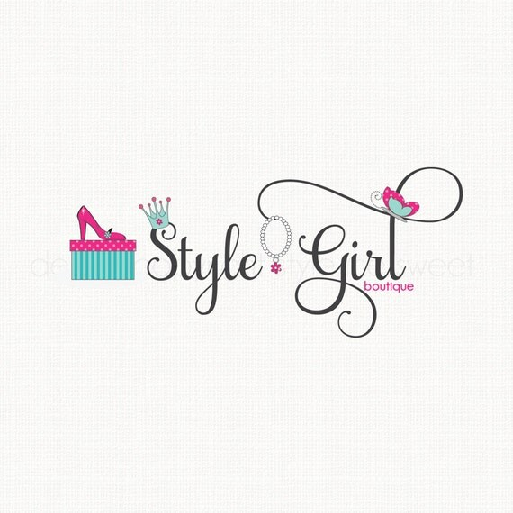 Fashion Logo Design Shoe Logo Design Crown Logo Design