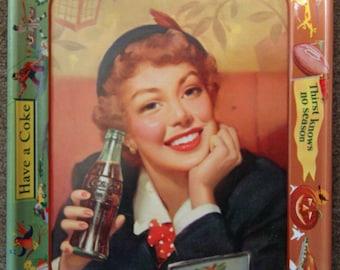 Plateau Coca Cola des années 1950 en excellent état