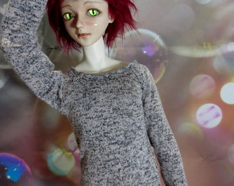 70cm BJD Pink Gravel pullover Sweater