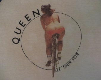 QUEEN 1978 tour T SHIRT