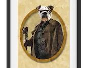 40% OFF CYBER SALE Alastor Harry Potter fan art print French Bulldog 1201PT