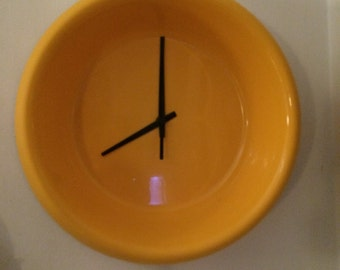 Dog Bowl clock