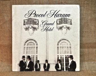 PROCOL HARUM - Grand Hotel - 1973 Vintage Vinyl Gatefold Record Album...includes 12-page insert Booklet w/Lryics...German Import