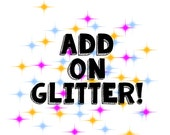 Add Glitter to Any Cast Resin Horn
