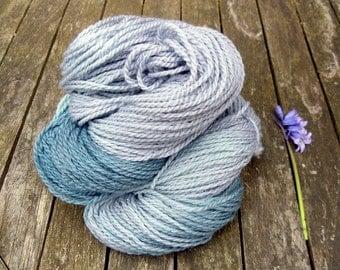 Sparkle Yarn, DK, British Falkland Merino, Yorkshire Rose Twinkle, 100g, Grey, Teal, Aqua