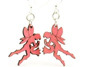 Fairy Earrings - From Reforested Wood