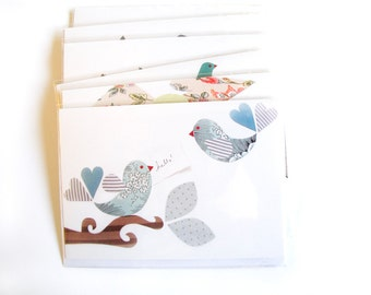 Hello Lovebirds Greeting Card