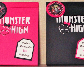 Monster High Party Favors In an easy to assemble do it yourself kit