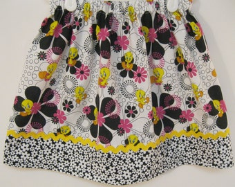 Clearance Tweety Skirt  Size 2 - 7